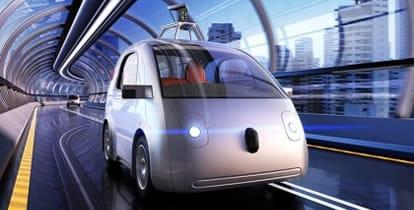 Google car scende in strada