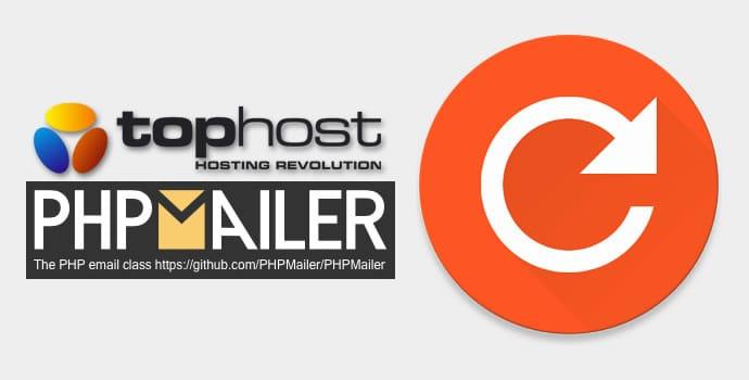 Attivare SMTP PHPMailer su Tophost